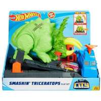 hot wheels pista triceratops