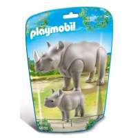Playmobil Rinoceronte con Bebé