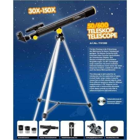 TELESCOPIO 50/60 NATIONAL GEOGRAPHIC