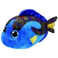 Beanie Boos Mediano 23 Cm Pez Aqua Azul