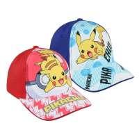Gorra pokemon Pikachu Roja