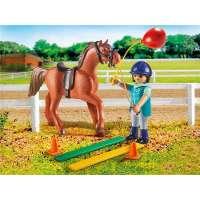 terapeuta de caballos