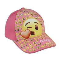 Gorra Emoji de cara Besando