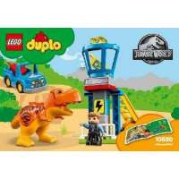 Lego Jurassic World Torre...