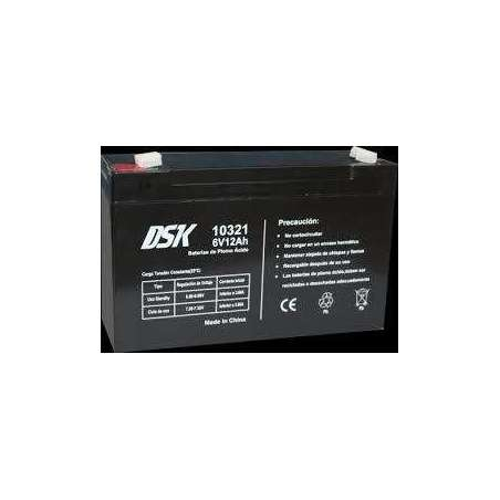 bateria varta 6v  12AH  DSK