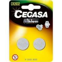 PILA CEGASA LITIO CR2032 3V BLISTER 2