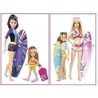 Pack Dos Hermanas Barbie