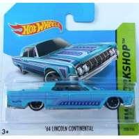 Hot Wheels 64 Lincoln Continental Azul