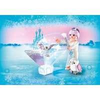 princesa flor de hielo