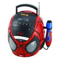 radio cd cabeza spiderman