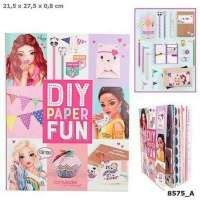top model diy paper fun book
