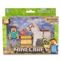 Minecraft Steve + Caballo Pack