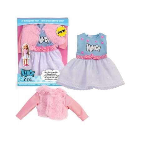 vestido nancy abrigo rosa