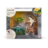 Set 4 Minidinos con Puzzle 2