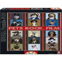 Puzzles Educa - Pets Rocks Film, puzzle