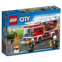 Lego City Camión De Bomberos Con Escaler