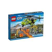 Lego Volcan Helicoptero De Suministros