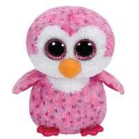 Beanie Boos Mediano Pinguino Rosa