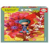 Puzzle Blue Lady, Ketto
