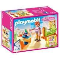 Playmobil Habitación del bebé con cuna
