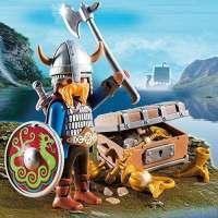 Playmobil - Vikingo con tesoro - 5371