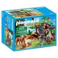 Playmobil Familia de Linces con cámara