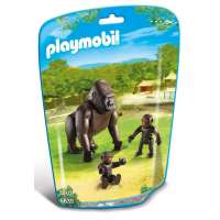 Playmobil Gorila Con Bebés