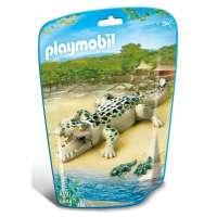Playmobil Caimán con Bebés