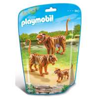 Playmobl Familia De Tigres