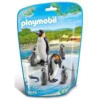 Playmobil Familia De Pingüinos
