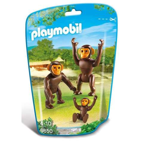 Playmobil Chimpancés