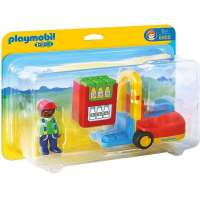 Playmobil 1.2.3 Carretilla...