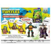 TURTLES FIGURAS POWERSOUND