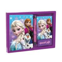 Frozen Snow Dots Set Diario+Listin