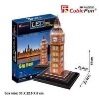 Puzzle Led 3D Big Ben 28 Piezas