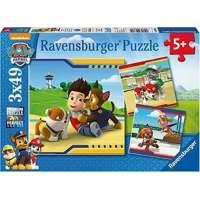PPL Paw Patrol Puzzles 3X49 Piezas