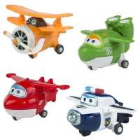 SuperWings - Set 4 Jett, Mira,Paul,Grand
