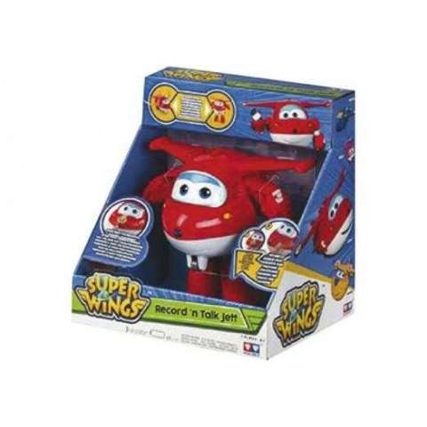 SUPERWINGS JETT GRABA TU VOZ TRANSFORMAB