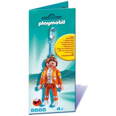 PLAYMOBIL LLAVERO DE EMERGENCIAS