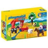 PLAYMOBIL 1 2 3 RECINTO DE...