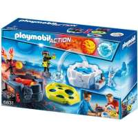 PLAYMOBIL ZONA COMBATE DE ROBOTS