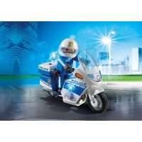 MOTO POLICIA CON LUCES LED