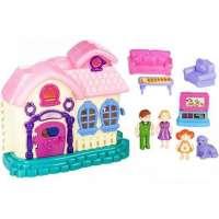 Casa Muñecas Con Luz Y Sonido