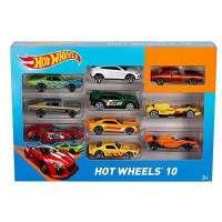 Hot Wheels Pack 10 Vehículos