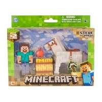 Minecraft Steve + Caballo...