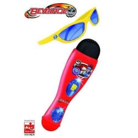 Beyblade Microfono y gafas