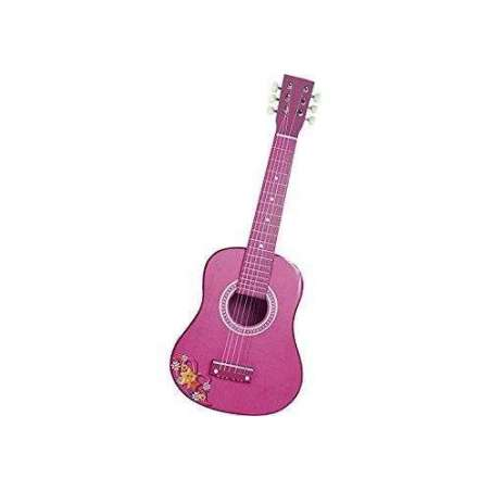 Guitarra De Madera Rosa 65cm.