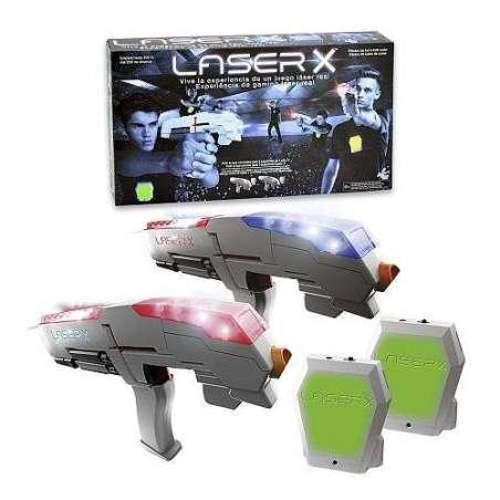 Pistola Láser X doble