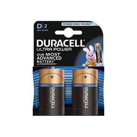 Blister Pilas Duracell UltraPower D-LR20