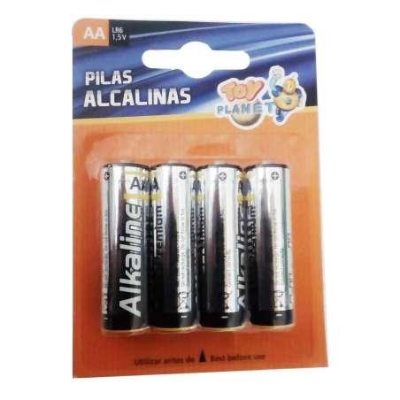 Blister 4 Pilas Alcalinas 1,5 -AA ó LR06